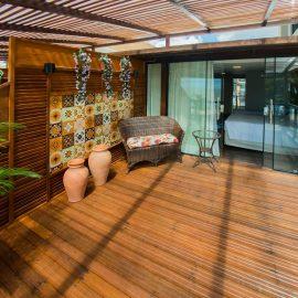 Varanda, quarto com varanda
